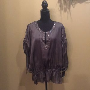 Pullover tunic top
